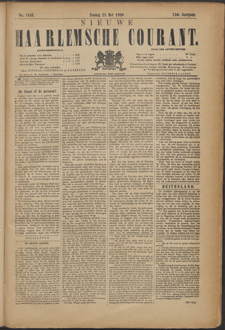 Nieuwe Haarlemsche Courant 1890-05-25
