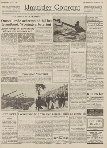 IJmuider Courant 1959-05-30