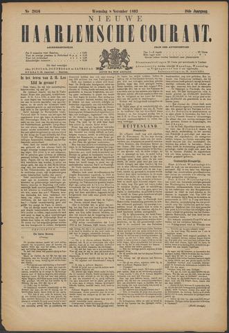 Nieuwe Haarlemsche Courant 1893-11-08