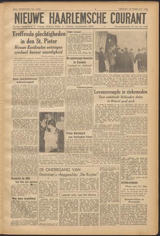 Nieuwe Haarlemsche Courant 1946-02-22