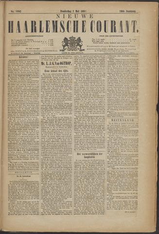 Nieuwe Haarlemsche Courant 1891-05-07
