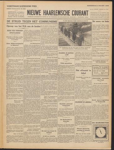 Nieuwe Haarlemsche Courant 1933-03-02