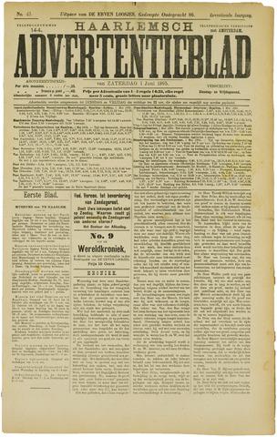 Haarlemsch Advertentieblad 1895-06-01