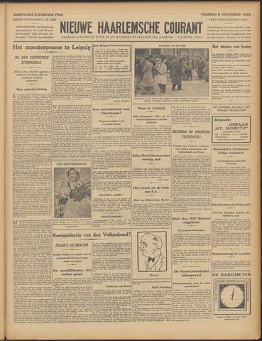 Nieuwe Haarlemsche Courant 1933-12-08
