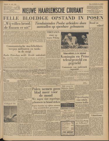Nieuwe Haarlemsche Courant 1956-06-29