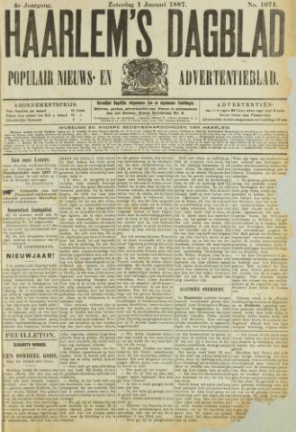 Haarlem's Dagblad 1887
