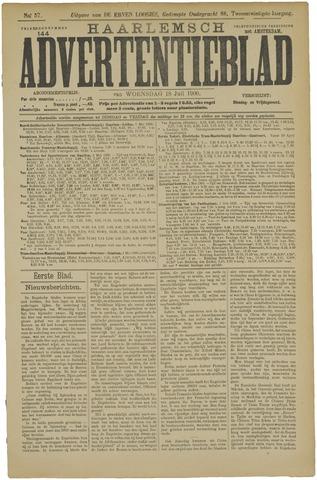 Haarlemsch Advertentieblad 1900-07-18