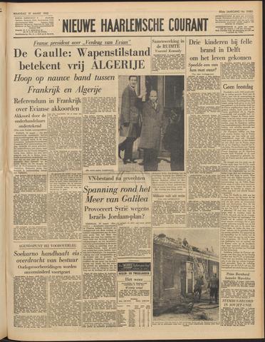 Nieuwe Haarlemsche Courant 1962-03-19
