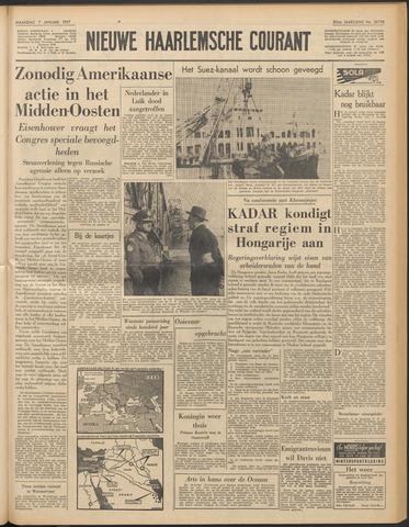 Nieuwe Haarlemsche Courant 1957-01-07