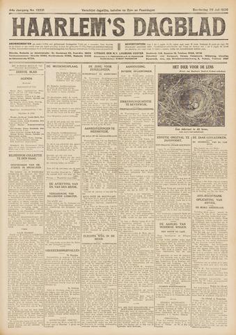 Haarlem's Dagblad 1926-07-29