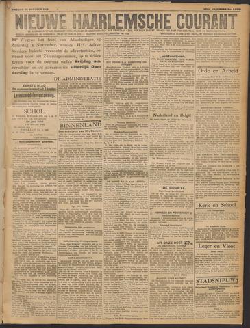 Nieuwe Haarlemsche Courant 1919-10-28