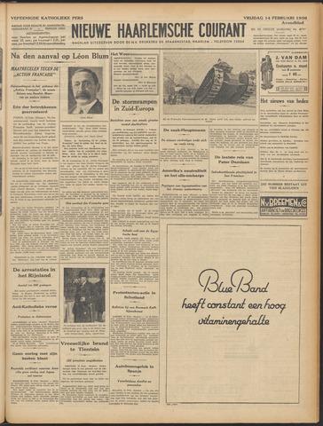 Nieuwe Haarlemsche Courant 1936-02-14