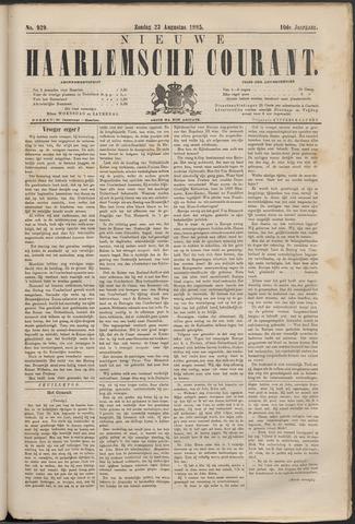 Nieuwe Haarlemsche Courant 1885-08-23