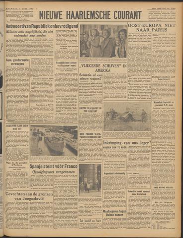 Nieuwe Haarlemsche Courant 1947-07-07