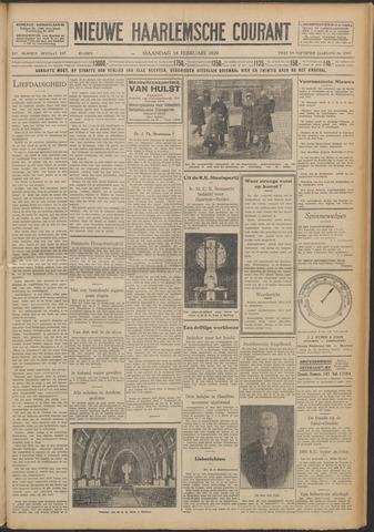 Nieuwe Haarlemsche Courant 1929-02-18
