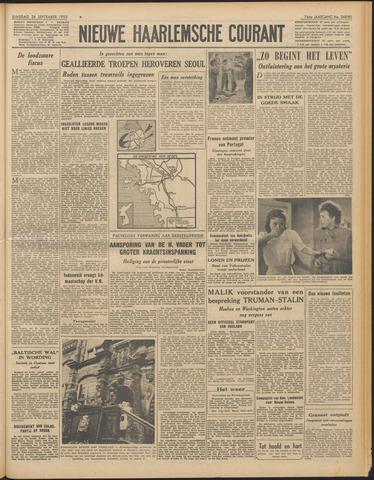 Nieuwe Haarlemsche Courant 1950-09-26