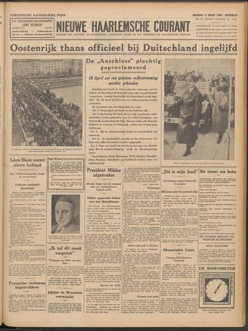 Nieuwe Haarlemsche Courant 1938-03-14