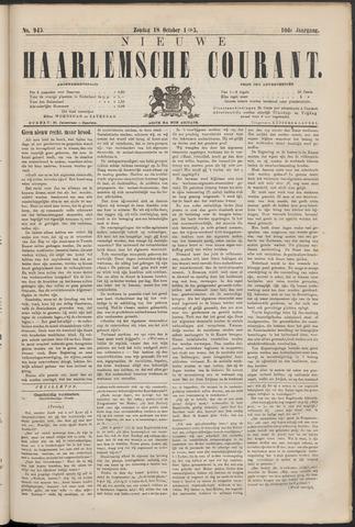 Nieuwe Haarlemsche Courant 1885-10-18