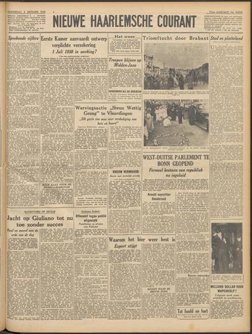 Nieuwe Haarlemsche Courant 1949-09-08