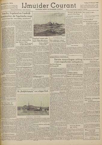 IJmuider Courant 1948-02-27