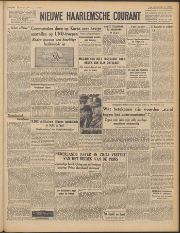 Nieuwe Haarlemsche Courant 1951-04-24