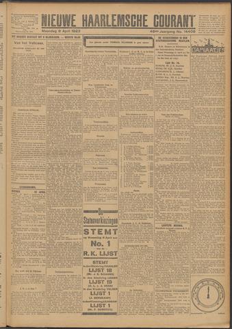 Nieuwe Haarlemsche Courant 1923-04-09