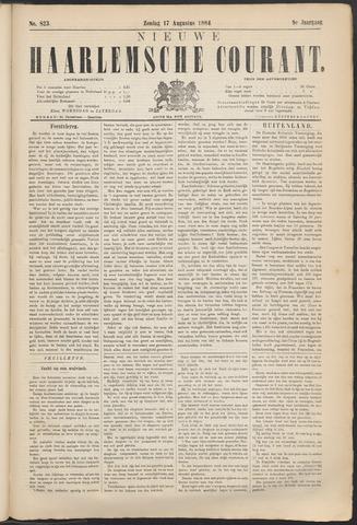 Nieuwe Haarlemsche Courant 1884-08-17
