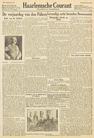 Haarlemsche Courant 1943-04-20