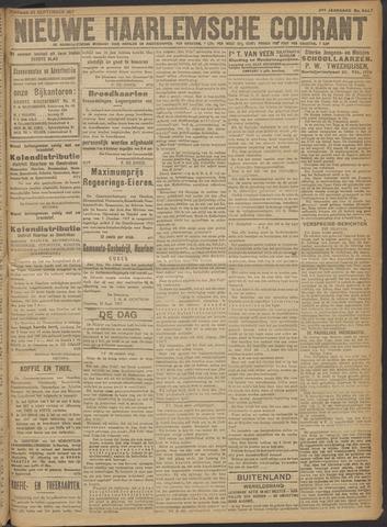 Nieuwe Haarlemsche Courant 1917-09-25
