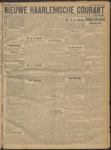 Nieuwe Haarlemsche Courant 1917-04-19