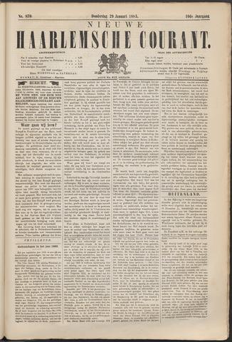 Nieuwe Haarlemsche Courant 1885-01-29