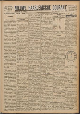 Nieuwe Haarlemsche Courant 1923-07-18
