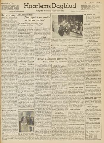Haarlem's Dagblad 1950-02-27