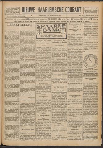 Nieuwe Haarlemsche Courant 1930-09-20