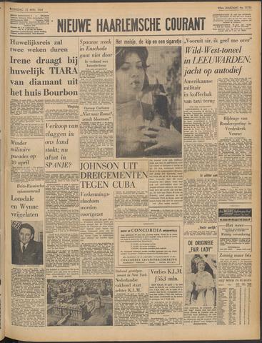 Nieuwe Haarlemsche Courant 1964-04-22