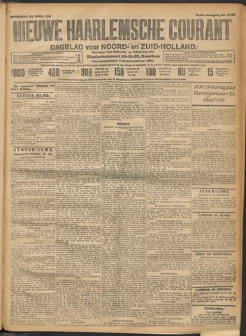 Nieuwe Haarlemsche Courant 1914-04-22