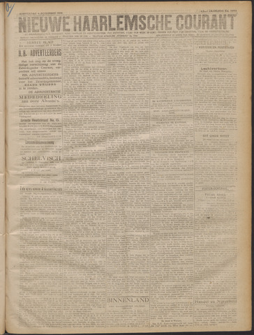 Nieuwe Haarlemsche Courant 1919-12-04