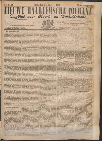 Nieuwe Haarlemsche Courant 1900-03-26