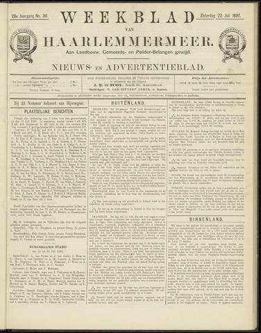 Weekblad van Haarlemmermeer 1887-07-23