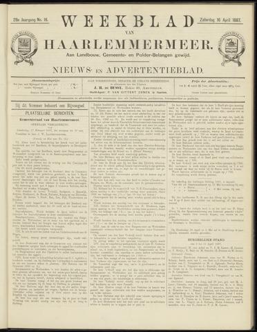 Weekblad van Haarlemmermeer 1887-04-16
