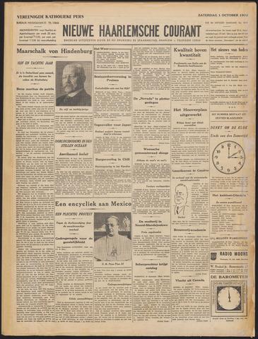 Nieuwe Haarlemsche Courant 1932-10-01