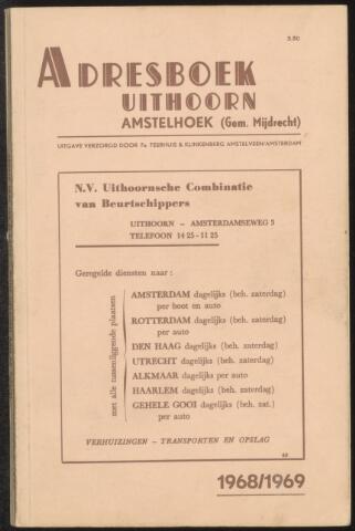 Adresboeken Uithoorn, Amstelhoek 1968-01-01