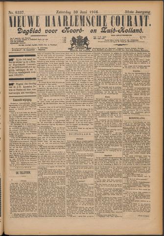 Nieuwe Haarlemsche Courant 1906-06-30