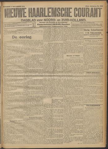Nieuwe Haarlemsche Courant 1914-09-21