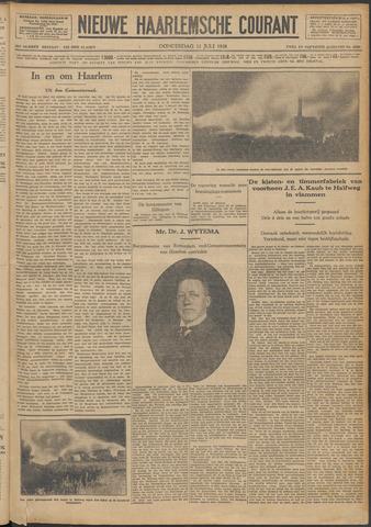 Nieuwe Haarlemsche Courant 1928-07-12