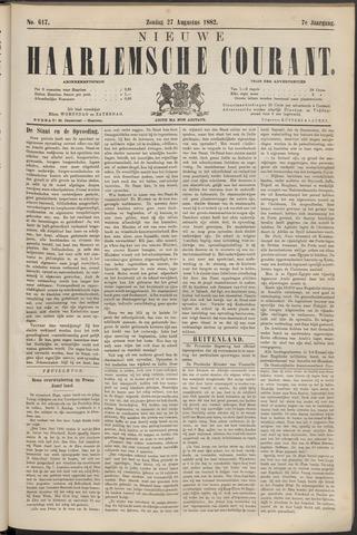 Nieuwe Haarlemsche Courant 1882-08-27