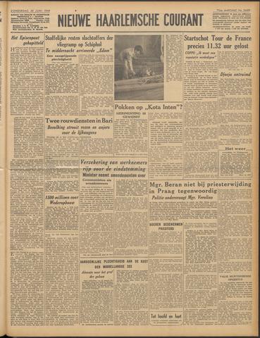 Nieuwe Haarlemsche Courant 1949-06-30