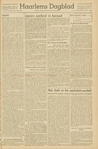 Haarlem's Dagblad 1945-08-11