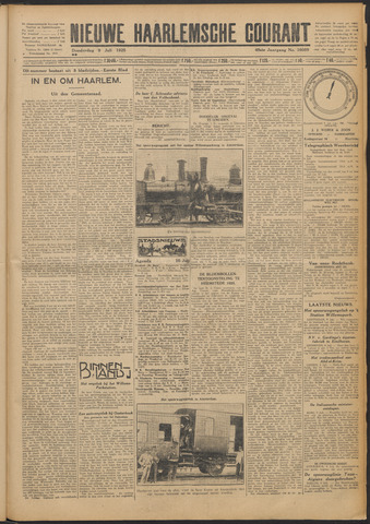 Nieuwe Haarlemsche Courant 1925-07-09