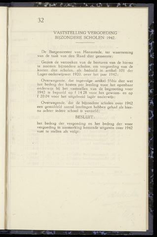 Raadsnotulen Heemstede 1943-11-23